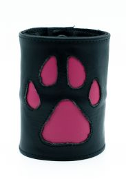 ruff GEAR HOUND Leather Wrist Strap Wallet Pink Black