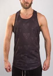 ruff GEAR Hound Logo Tank Top Black