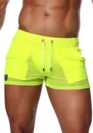 TOF Paris Happy Shorts Neon Yellow