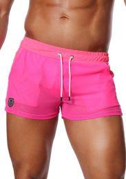 TOF Paris Happy Shorts Neon Pink