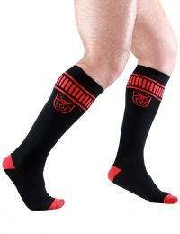 TOF Paris Socks Footish Black Red