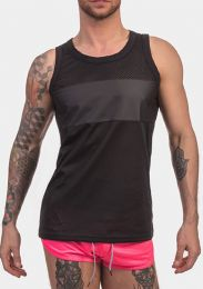 Barcode Berlin Tank Top Uriol Black