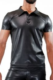 TOF Paris Polo Shirt Fetish Black