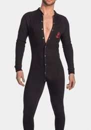 Barcode Berlin Union Suit Gian Black Red