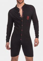 Barcode Berlin Union Suit Piero Black Red