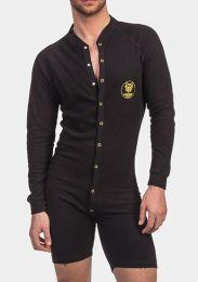 Barcode Berlin Union Suit Piero Black Yellow