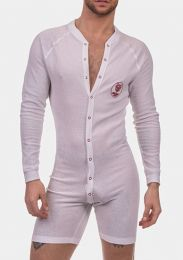 Barcode Berlin Union Suit Piero White Red