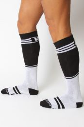 Cellblock 13 Torque 2.0 Knee High Sock White